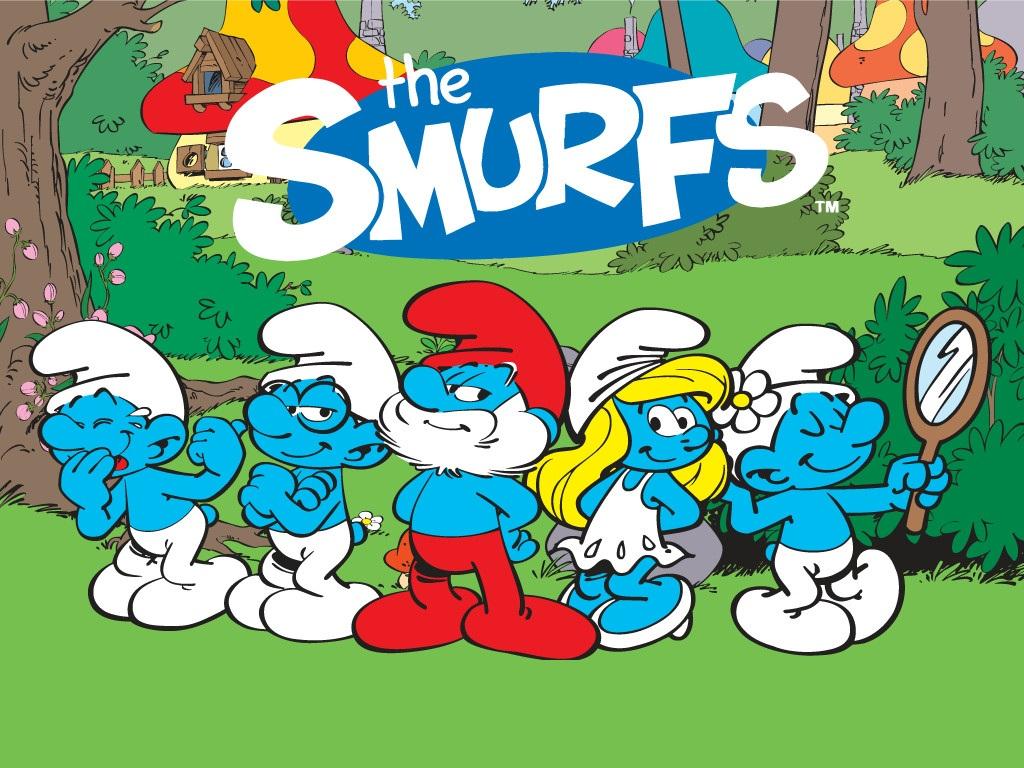 Smurfs Cartoon Characters 80 S : Truyện thiếu nhi quot làng xì trum và những cô cậu