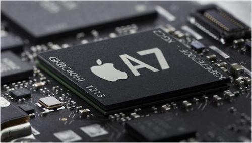 Con chip A7. Con chip 64bit đầu tiên trên thiết bị di động