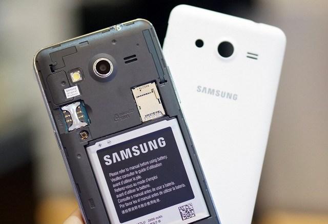 Samsung Galaxy Core 2 hỗ trợ 2 SIM, pin 2000mAh