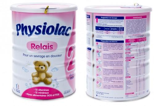Sữa Physiolac 2