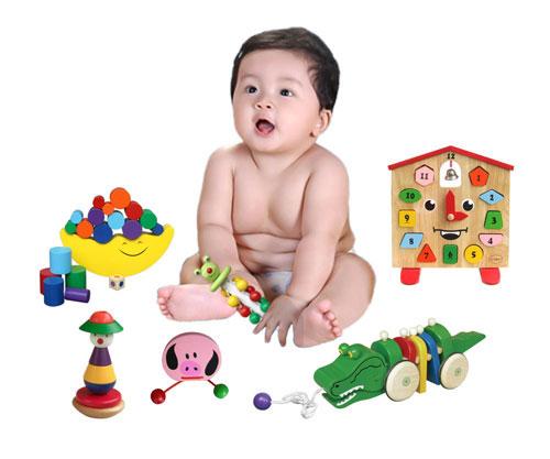Đồ chơi là món ăn tinh thần không thể thiếu với trẻ