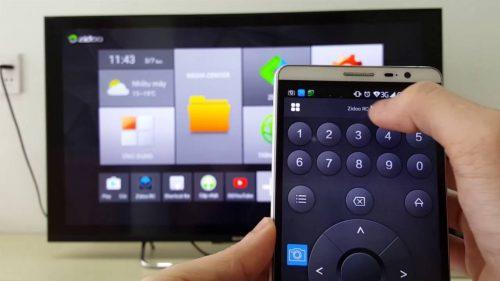 Kết quả hình ảnh cho kết nối tivi và điện thoại