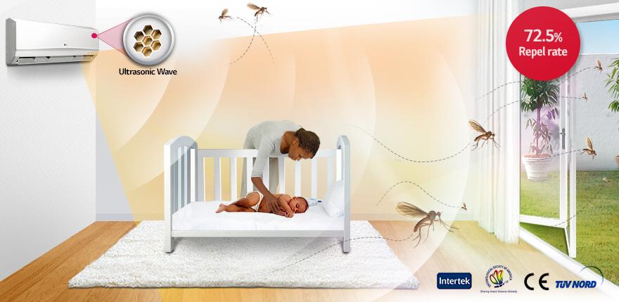 Máy lạnh đuổi muỗi là gì?