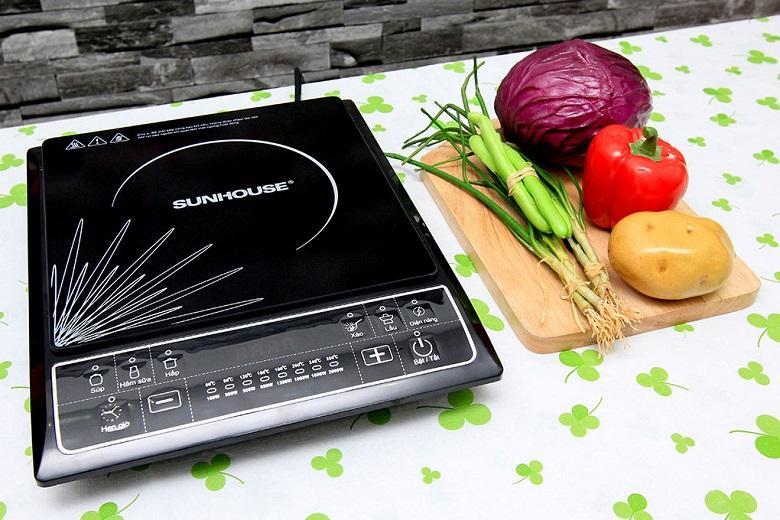 thương hiệu sunhouse tập trung nhiều về bếp từ đơn